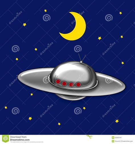 disco volante ufo disco volante ufo illustrazione di stock