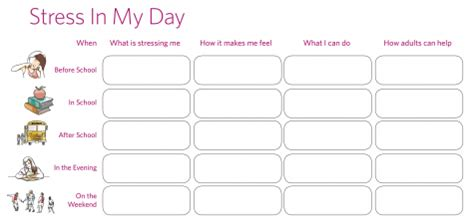 Stress Management Worksheets by Stress Management Worksheet Kelty Mental Health Resource
