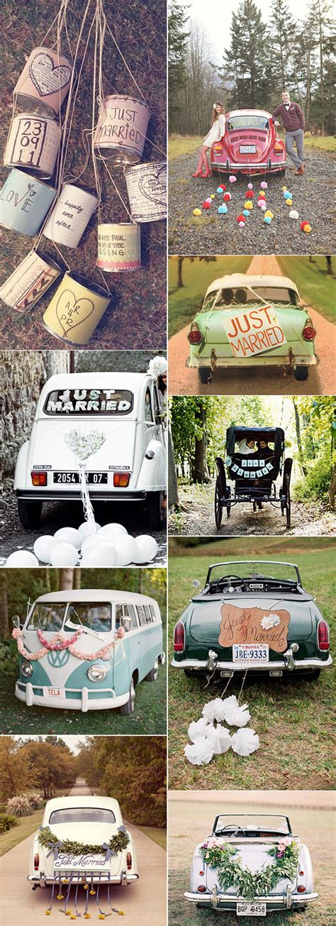 decoracion coche boda ideas para decorar tu boda