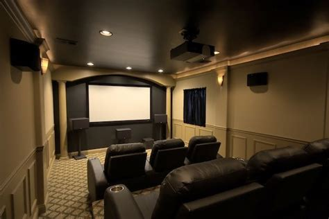 small room home theater room design studio design