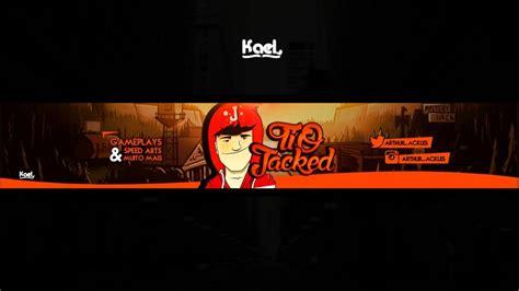 layout para banner youtube banner para youtube r 22 00 em mercado livre