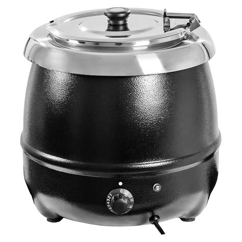 Maspion Electric Warmer Mw 85 electric soup kettle cooker warmer 10l commercial cooking 400 w 30 85 176 c new ebay