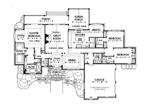 Best One Story Floor Plans by One Story Luxury House Plans Best One Story House Plans