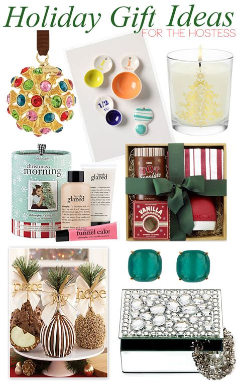 holiday gift ideas for the hostess by lynny