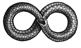 To The Power Of Infinity Symbol Flash Snake Ideatattoo