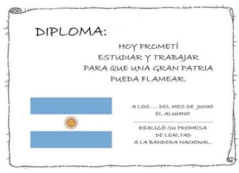 diplomas para imprimir jura de la bandera pergaminos diplomas recrear manualidades arte