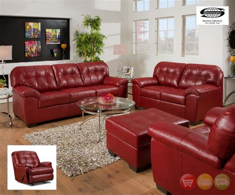 simmons red leather sectional simmons soho sofa soho cardinal showtime breathable