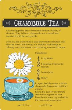 Chamomile Tea During Detox by Looks Like I Need The Fennel Tea The Healthy
