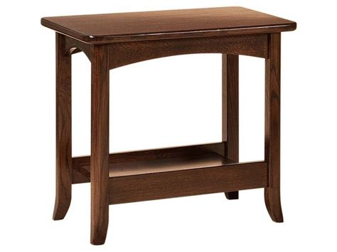 amish lakeshore occasional table brandenberry amish