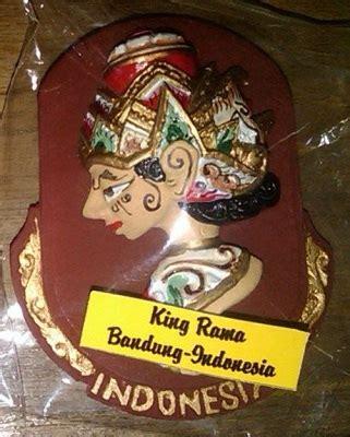 Wayang Golek Miniatur Rama Shinta Box Merah magnet kulkas rama shinta tidiart