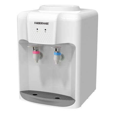 Countertop Water Cooler Walmart by Farberware Fw Wd211 3 5 Gallon Countertop And Cold
