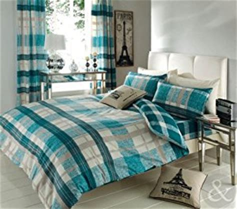Sprei Vallery 200x200 Marroon King Size Just Contempo Checked 3pc Bed In Bag Duvet Set