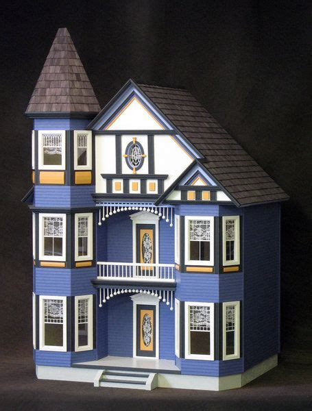 real good toys doll houses real good toys painted lady victorian dollhouse kit by