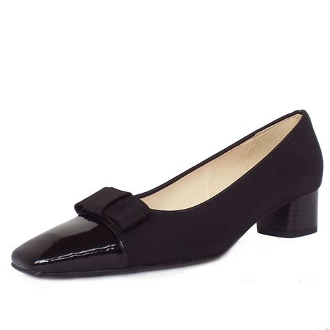 heeled shoes kasier beli s black low heel court shoes
