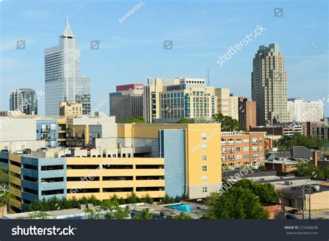 view on downtown raleigh nc stock photo 272448248