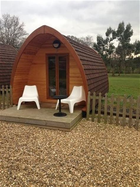 old thorns manor hotel hshire book a golf break or golf holiday view of our pod from the door picture of old thorns