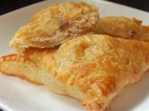Chicken Pastry craves chicken and bacon pastry pockets