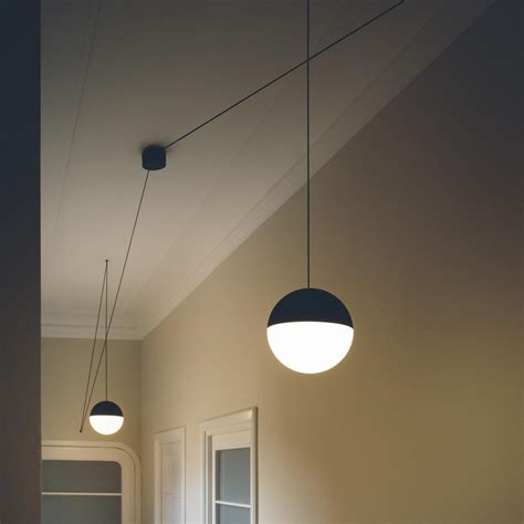 flos ceiling ls string light sfera 12mt design republic