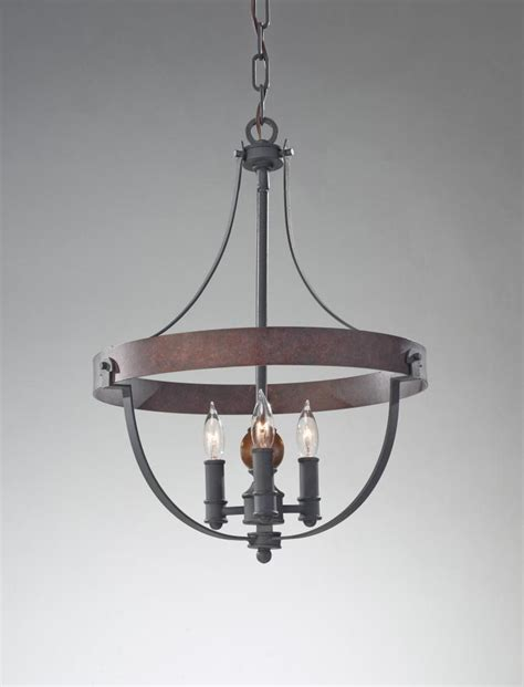 Acorn Chandelier Feiss Three Light Af Charcoal Brick Acorn Up Chandelier F2797 3af Cba