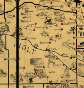 holt county negenweb project maps