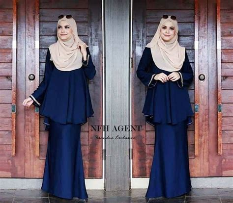 Baju Kurung Moden Blue Black baju kurung warna emerald green hairstylegalleries