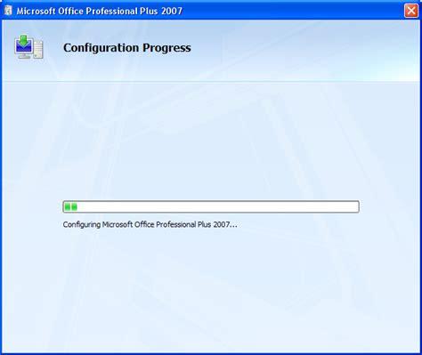 Installer Microsoft Office microsoft word 2007 restarts the installer upon exiting on windows xp user