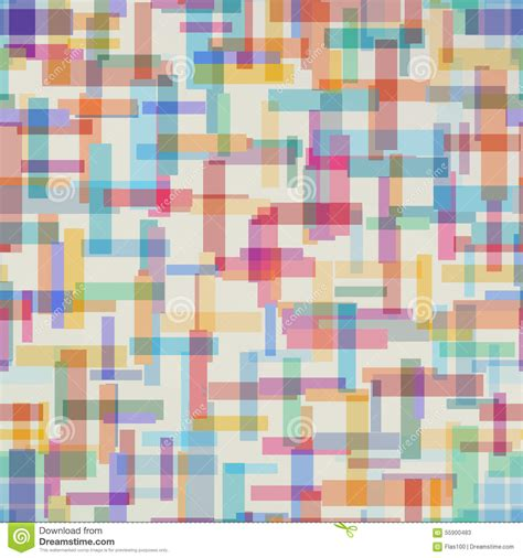 abstract rectangular pattern colorful abstract pattern from rectangle shape stock