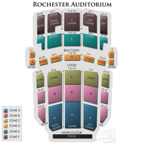 rochester auditorium theatre seating rochester auditorium tickets rochester auditorium