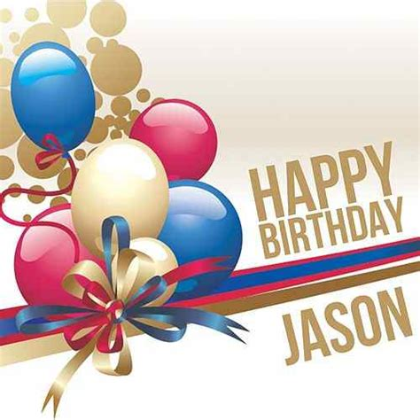 Happy Birthday Jason by Happy Birthday Jason Single By The Happy Band