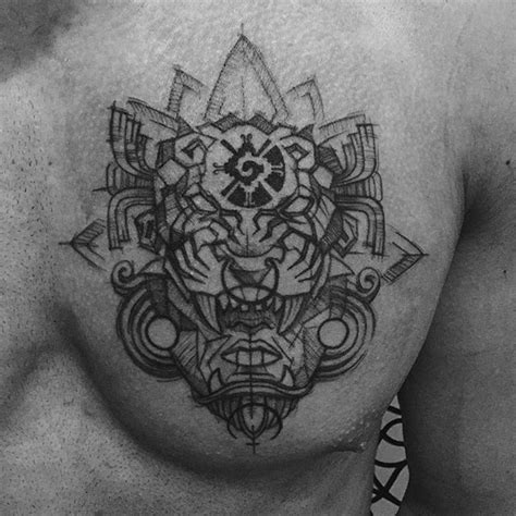 aztec jaguar tattoo designs pin by j on aztec and tatoo