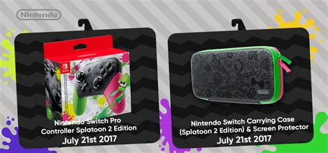 Dijamin Nintendo Switch Accessory Set Splatoon 2 Edition these colorful splatoon 2 switch accessories are to die for