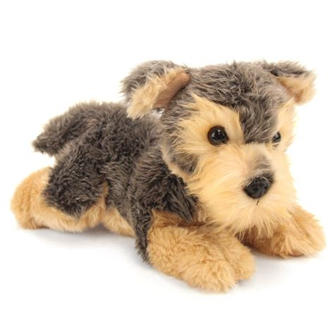 stuffed yorkie puppy yorky the stuffed terrier flopsie by at stuffed safari
