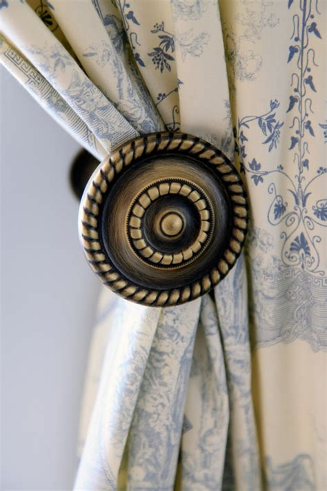 curtain rods and tiebacks tiebacks a great way to add personality to your curtains