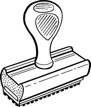 accepted stamp clip art (20+)
