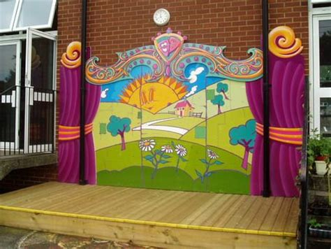 best school wall murals designs for wall decoration ideas
