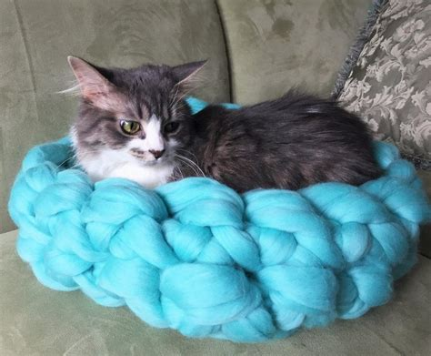 knit cat bed pattern free knitting pattern for arm knit cat bed outdoor ideas