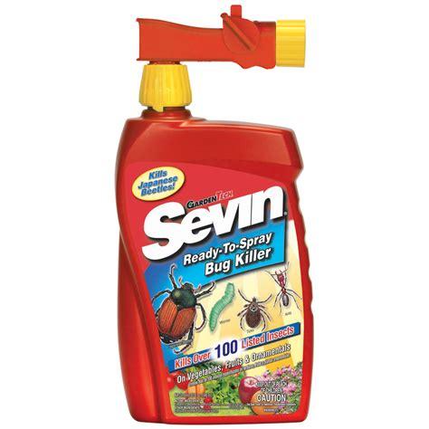 garden pest spray shop sevin ready to spray 1 quart garden insect killer at
