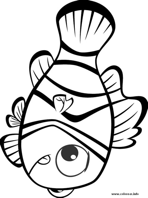 pictures nemo coloring pages free coloring pages of nemo