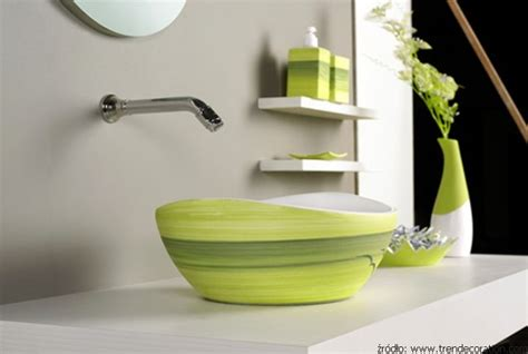 Bathroom Hardware Layout Zielona łazienka Aranżacja Bliska Naturze łazienki