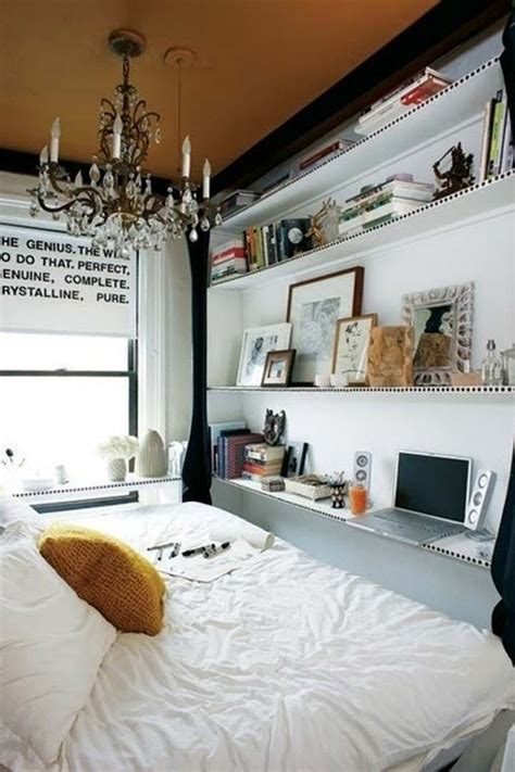 tiny bedroom hacks        space