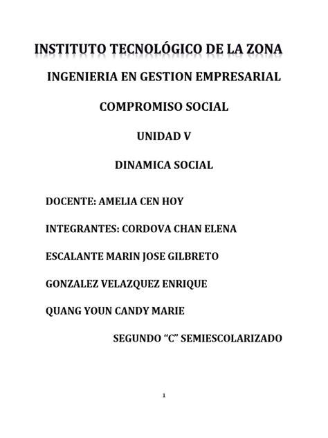 indice de un proyecto 8vo nivel scribdcom 5 compromiso social