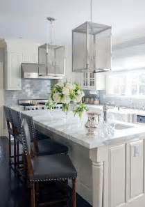 ivory kitchen ideas ivory kitchen island with nickel and mesh lanterns