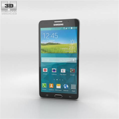 Samsung Galaxy Mega 2 G750 3 samsung galaxy mega 2 black 3d model hum3d