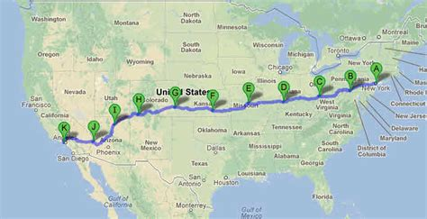 map us highway 50 united states road map highways us