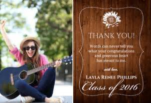 graduation thank you card wording ideas and inspiration