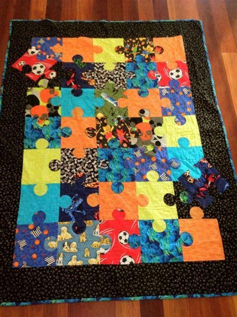 Jigsaw Quilt Pattern by Jigsaw Quilt Quilts