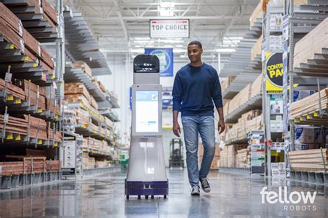 lowe s introduces autonomous service robots to retail
