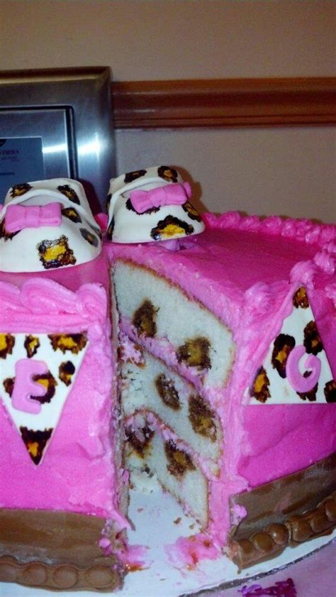 Leopard Baby Shower Cakes by Leopard Monkey Baby Shower Cake Cakecentral
