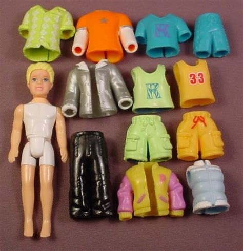 Clothes My Back 132008 by Polly Pocket 13 Lot Of Clothes Rick Doll