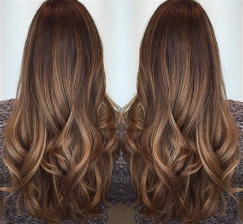 chocolate hair color with caramel highlights caramel highlights ideas for brown hair hair world